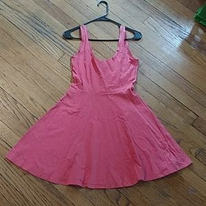 Original Delia's Flirty n Flared Pink Skater Dress
